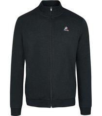 sweater le coq sportif sweatshirt essentiels zippé