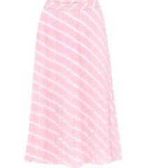 gonna plissettata (rosa) - bodyflirt