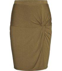 skirt kort kjol grön rosemunde