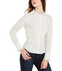 lucky brand eleanor cotton top