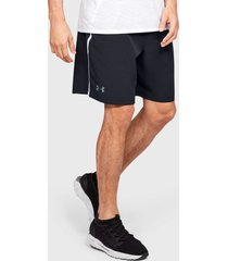 short under armour ua qualifier wg perf shorts negro - calce regular