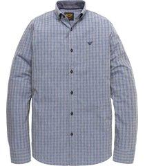 long sleeve shirt faded melange ch moonlight blue