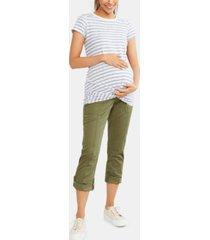 motherhood maternity ankle pants