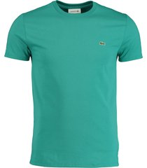 lacoste t-shirt groen ronde hals th6709/s5j