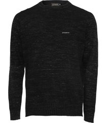 suéter opera rock tricot liso preto