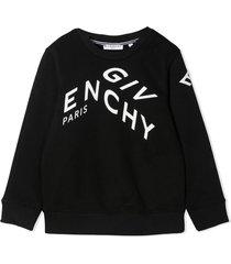 givenchy black cotton-blend sweatshirt