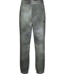 hampus trousers casual broek vrijetijdsbroek grijs wood wood