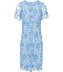 jurk korte mouwen van basler blauw