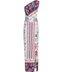 abito monospalla (bianco) - bodyflirt boutique