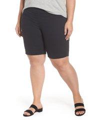 plus size women's jag jeans gracie bermuda shorts, size 22w - black