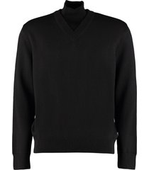 hugo boss b-curator virgin wool sweater