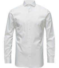 slhslimsel-pelle shirt ls b noos skjorta business vit selected homme