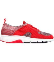 camper drift, sneakers hombre, rojo/gris, talla 46 (eu), k100288-003