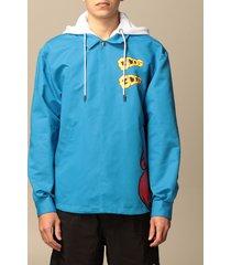 gcds jacket gcds jacket with maxi print