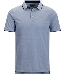 jack & jones poloshirt blauw plus size