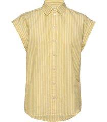 emirta_1 kortärmad skjorta gul boss