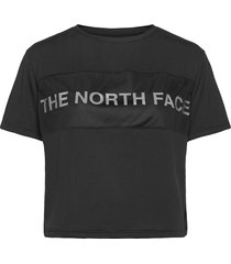 w tnl tee t-shirts & tops short-sleeved svart the north face