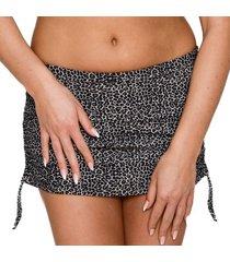 saltabad leo bikini skirted brief with string * gratis verzending *