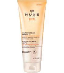 nuxe-sun after-sun hair & body shampoo, 200 ml