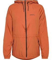 adv charge wind jkt w zomerjas dunne jas oranje craft