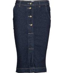 willow 601 knälång kjol blå 2nd