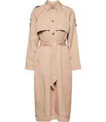 slfbrenna trenchcoat trench coat rock beige selected femme