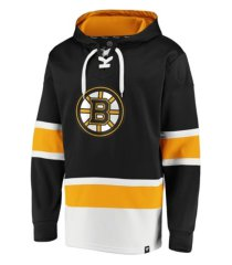 majestic boston bruins men's power play lace up hoodie