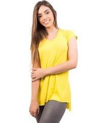 blusa 4 estações sobre legging manga curta feminina - feminino