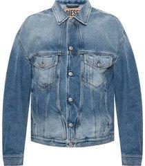 denim jacket with pockets