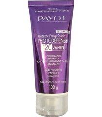 payot photodéfense fps 20 - protetor facial diário 100g