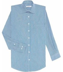 camisa formal diseño rayas silueta basic fit para hombre 94799