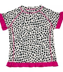 t-shirt plażowo-kąpielowy z filtrem uv 50+ caje girl