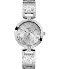 reloj guess g luxe/w1228l1 - plateado