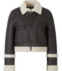 aviator style jacket