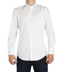 antony morato basic slimfit shirt wit