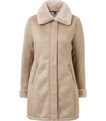 kappa faux sheared lamb coat