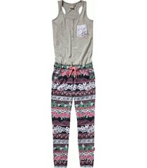 vingino grijze jumpsuit purple
