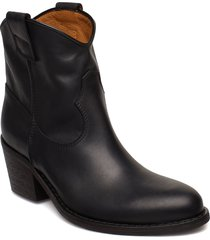 anna shoes boots ankle boots ankle boot - heel svart notabene