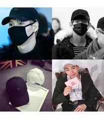 kpop bts v suga hat got7 bigbang g-dragon baseball cap cl ring design winner jay