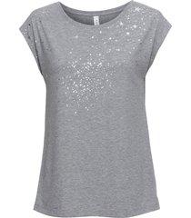 maglia con stelle lucide (grigio) - rainbow