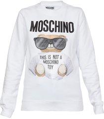 moschino sweatshirt with teddy print
