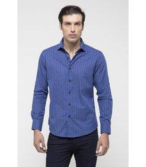 camisa azul prototype civetta
