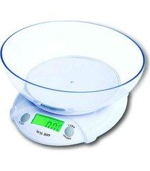 balança de cozinha 7 kg com cuba whb09