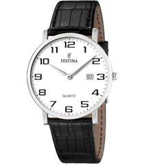 reloj classic negro festina