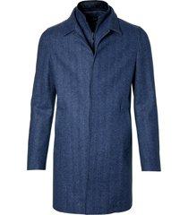 jac hensen jas - modern fit - blauw