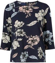 blus onlnova lux aop 3/4 sleeve top