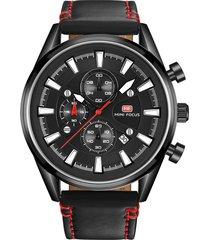 reloj análogo f0083g-2 hombre negro