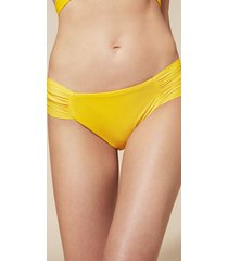 calzedonia indonesia drape bikini bottoms woman yellow size 3