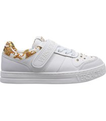 scarpe sneakers donna in pelle fondo court