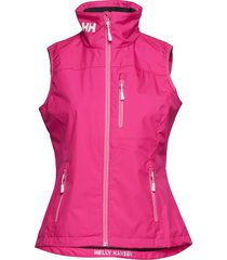 w crew vest vests padded vests roze helly hansen